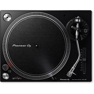 Pioneer DJ PLX-500-K DJ-Plattenspieler mit Direktantrieb, Schwarz - 2
