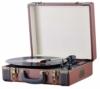 Plattenspieler Koffer   Schallplattenspieler   Turntable   Nostalgie Retro Plattenspieler im Koffer   Vinyl Player   Kofferplattenspieler   AUX IN   integrierte Lautsprecher   - 1