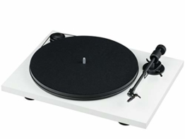 Pro-Ject Primary E, Audiophiler Plug&Play Plattenspieler (Weiß) - 1