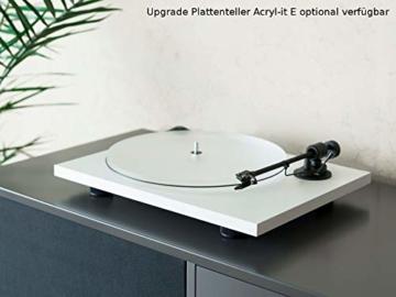 Pro-Ject Primary E, Audiophiler Plug&Play Plattenspieler (Weiß) - 2