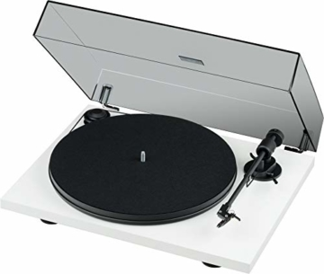 Pro-Ject Primary E, Audiophiler Plug&Play Plattenspieler (Weiß) - 3