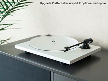 Pro-Ject Primary E, Audiophiler Plug&Play Plattenspieler (Weiß) - 8