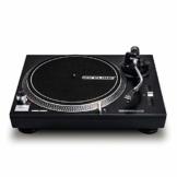 Reloop RP-2000 USB MK2 - quarzgesteuerter DJ-Plattenspieler mit Direktantrieb, 33 1/3 und 45 RPM, USB-Audio-Ausgang, präzisierter Pitch (+/-8 %), schwarz - 1