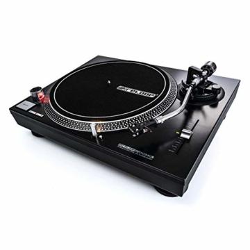 Reloop RP-2000 USB MK2 - quarzgesteuerter DJ-Plattenspieler mit Direktantrieb, 33 1/3 und 45 RPM, USB-Audio-Ausgang, präzisierter Pitch (+/-8 %), schwarz - 3
