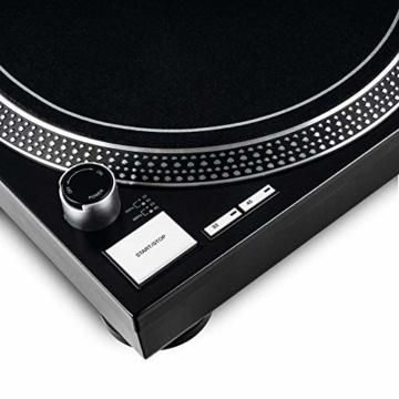 Reloop RP-2000 USB MK2 - quarzgesteuerter DJ-Plattenspieler mit Direktantrieb, 33 1/3 und 45 RPM, USB-Audio-Ausgang, präzisierter Pitch (+/-8 %), schwarz - 5