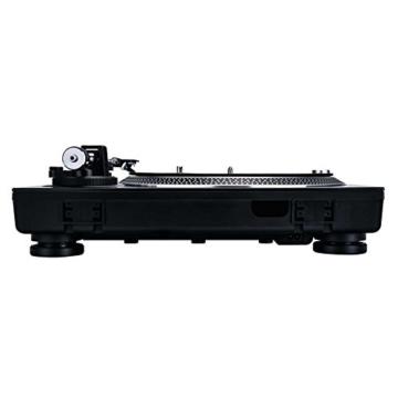 Reloop RP-4000 MK2 - DJ Plattenspieler mit starkem Torque Direktantrieb, Inkl. Plattenteller, OM Black Tonabnehmersystem, Headshell, Slipmat und Gegengewicht, schwarz - 2