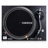 Reloop RP-4000 MK2 - DJ Plattenspieler mit starkem Torque Direktantrieb, Inkl. Plattenteller, OM Black Tonabnehmersystem, Headshell, Slipmat und Gegengewicht, schwarz - 1