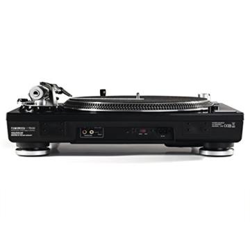 Reloop RP-7000 – DJ Plattenspieler mit sehr starkem High Torque Quartz-Direktantrieb, höhenverst. (VTA) Tonarm, Pitch-Bereich (+/-8%, +/-16%, +/-50%), (schwarzmetallic) - 3