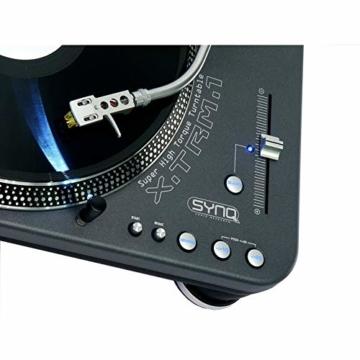 SYNQ X-TRM1 DJ Plattenspieler - 5