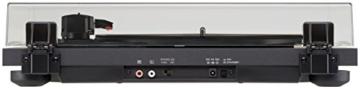Teac TN-180BT(B) Hifi Plattenspieler mit Bluetooth Sender für Lautsprecher und Kopfhörer (Riemenantrieb, 33/45/78 U/min, integrierter Phono-Vorverstärker, High-Density MDF-Gehäuse), Schwarz - 4