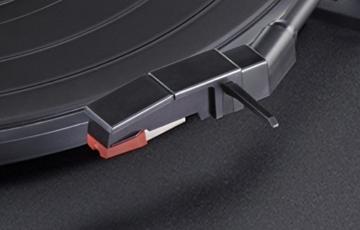 Teac TN-180BT(B) Hifi Plattenspieler mit Bluetooth Sender für Lautsprecher und Kopfhörer (Riemenantrieb, 33/45/78 U/min, integrierter Phono-Vorverstärker, High-Density MDF-Gehäuse), Schwarz - 5