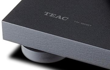 Teac TN-180BT(B) Hifi Plattenspieler mit Bluetooth Sender für Lautsprecher und Kopfhörer (Riemenantrieb, 33/45/78 U/min, integrierter Phono-Vorverstärker, High-Density MDF-Gehäuse), Schwarz - 8