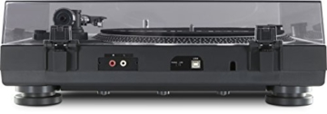 TechniSat TECHNIPLAYER LP 300 - Profi-USB-DJ-Plattenspieler (mit Scratch-Funktion und Digitalisierungsfunktion (Drehzahl: 33/45 U/min, Quarzgesteuerter Direktantrieb)) schwarz - 2