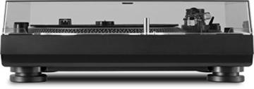 TechniSat TECHNIPLAYER LP 300 - Profi-USB-DJ-Plattenspieler (mit Scratch-Funktion und Digitalisierungsfunktion (Drehzahl: 33/45 U/min, Quarzgesteuerter Direktantrieb)) schwarz - 3