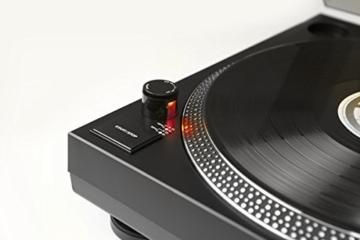 TechniSat TECHNIPLAYER LP 300 - Profi-USB-DJ-Plattenspieler (mit Scratch-Funktion und Digitalisierungsfunktion (Drehzahl: 33/45 U/min, Quarzgesteuerter Direktantrieb)) schwarz - 5