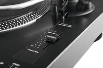 TechniSat TECHNIPLAYER LP 300 - Profi-USB-DJ-Plattenspieler (mit Scratch-Funktion und Digitalisierungsfunktion (Drehzahl: 33/45 U/min, Quarzgesteuerter Direktantrieb)) schwarz - 7
