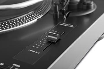 TechniSat TECHNIPLAYER LP 300 - Profi-USB-DJ-Plattenspieler (mit Scratch-Funktion und Digitalisierungsfunktion (Drehzahl: 33/45 U/min, Quarzgesteuerter Direktantrieb)) schwarz - 8