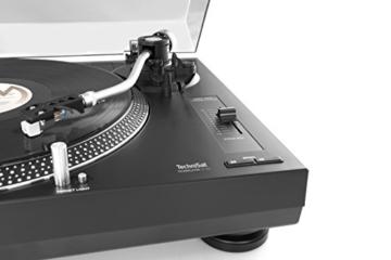 TechniSat TECHNIPLAYER LP 300 - Profi-USB-DJ-Plattenspieler (mit Scratch-Funktion und Digitalisierungsfunktion (Drehzahl: 33/45 U/min, Quarzgesteuerter Direktantrieb)) schwarz - 10