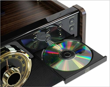 Victrola Empire 6-in-1 Bluetooth Plattenspieler Music Centre - 2