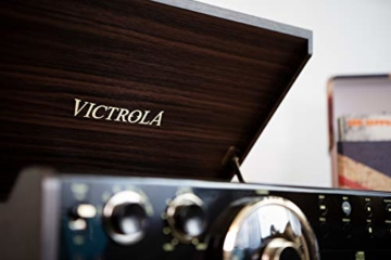 Victrola Empire 6-in-1 Bluetooth Plattenspieler Music Centre - 3