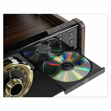 Victrola Empire 6-in-1 Bluetooth Plattenspieler Music Centre - 8
